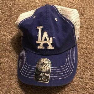 LA Dodgers baseball hat